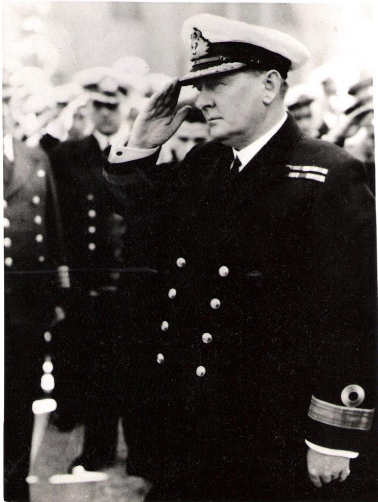 Commodore Henry Harwood 1937