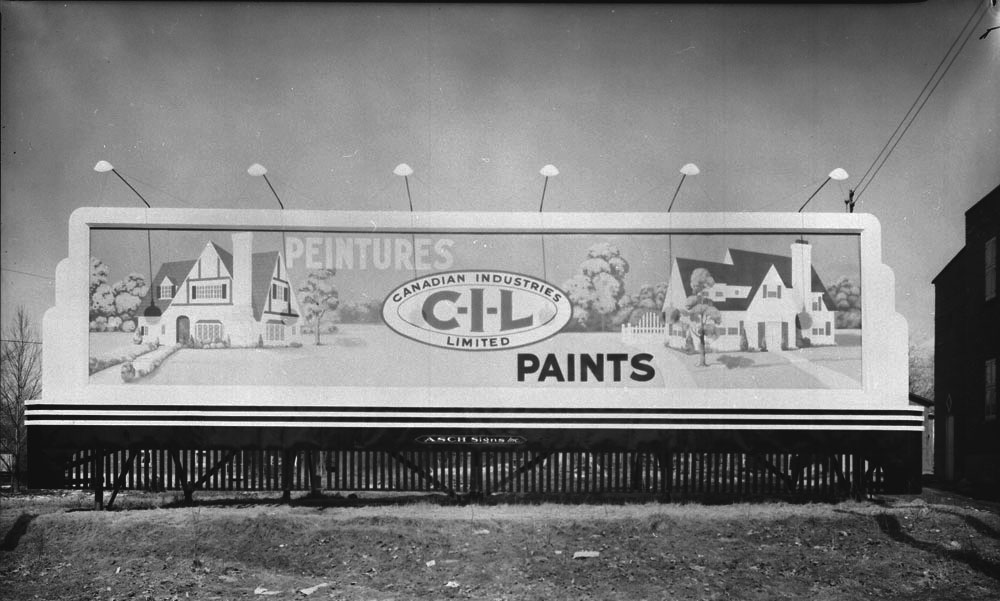 Canadian Industries Limited C-I-L Paints.